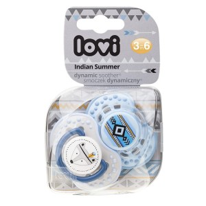 Smoczek Lovi 3-6 Indian Summer Boy